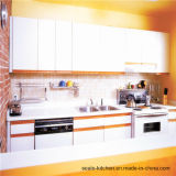 Australien-hohes glattes Farbanstrich-Küche-Schrank-Ende