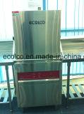 Tipo macchina commerciale del trasportatore del cappuccio della lavapiatti