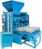 Qtj4-35 Máquina de fabricação de bloco oco de cimento médio