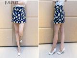 Blumenmädchen-Fußleisten-Sommer-Kleid-Frauen