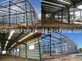 Construção de aço de construção do armazém da oficina do fabricante do projeto
