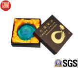 Luxuxkarton-steife Geschenk-Kasten-Kosmetik-verpackender Papierkasten mit Schaumgummi-Tellersegment