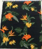 의복 홈 직물을%s 꽃 인쇄 리넨 면에 의하여 혼합되는 직물