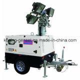 Bewegliches heller Aufsatz-Generator-Set der Serien-T1000/Dieselgenerator-Set/Dieselfestlegenset/Genset/DieselGenset