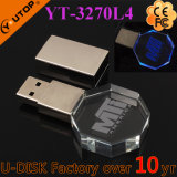 선전용 선물 주문 새기는 로고 수정같은 USB 부속품 /Souvenir (YT-3270L3)