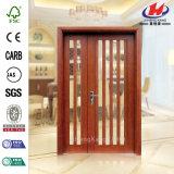 Дверь стекла мозаики твердой древесины легкая