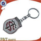 Ремесленничество Keychains формы дешевого оптового металла верхнего сегмента изготовленный на заказ плоское (FTKC1539A)