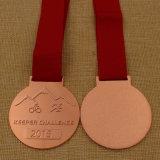 O metal feito sob encomenda da venda 2016 superior ostenta a medalha, medalha Running, medalha da maratona no metal