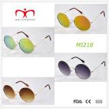 Óculos de sol retros de Design e de Round Frame Metal (MI218)
