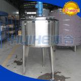 El tanque de la reacción del acero inoxidable (mezclador)