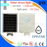 China toda en una calle solar integrada Solarlight del LED