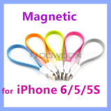 Flache Magnetic Lightning 8 Pin USB Synchronisierung Data Charging Cable für iPhone 6 5 5s 5c iPad 4 iPad Mini