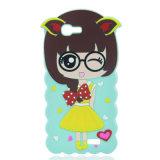 Huawei P9 라이트 또는 iPhone를 위한 작은 마녀 만화 실리콘 이동 전화 상자 6 더하기 iPhone7/7puls (XSR-002)