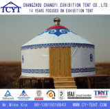 5.12m Tourist Aluminiummongolisches Yurt Bambuszelt