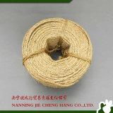 il sisal della corda della canapa 3ply di 8mm Ropes 2-40kgs/Bale