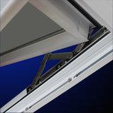 Qualitäts-Puder-überzogene weiße Farben-Aluminiumprofil-Markisen-Fenster mit Bildschirm Kz230
