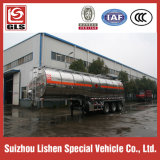 AluminiumAlloy Crude Oil Semi Tariler 40000L Tri Axles Fuel Tanker Trailer