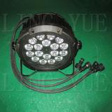 18X18W RGBWA UVnennwert 6in1 kann billig LED-Stadiums-Beleuchtung