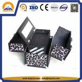 Случай тщеты состава леопарда красотки модный с зеркалом (HB-1007)