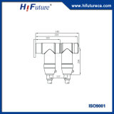 36kv mit Filter versehener t-Typ trennbarer Kabel-Verbinder - ankommende Zeile Bauteil der Schaltanlage