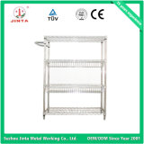 棚、ワイヤー棚、台所棚(JT-F01)を置く食糧