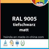 Rivestimento della polvere nera del getto di Ral 9005 di colore di Ral di alta qualità