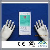 Guantes ásperos quirúrgicos disponibles del látex con la certificación del Ce aprobada