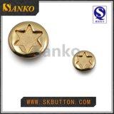 方法デザイン金属のシャンク・ボタンは星を好む