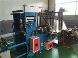 Verwendeter heißer Verkaufs-Gewebe-Plastikfilm-flacher Beutel, der Maschine bildet