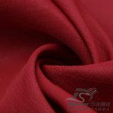 Agua y de la ropa de deportes tela sucia tejida chaqueta al aire libre Viento-Resistente 100% de la pongis del poliester del telar jacquar de la tela escocesa abajo (E074A)