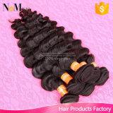 Ondulado brasileiro do Virgin humano Rated superior do cabelo do Weave da venda por atacado 8A Remy do preço da tomada de fábrica