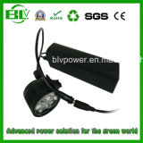 Capacity elevado Hot Sell 12V 6600mAh Miner Lamp Camping Light Bike Light Rechargeable Battery Pack