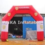 Porta inflável impressa logotipo personalizada do arco para a celebração