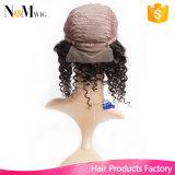 Da peruca Curly peruana barata do cabelo humano do laço da parte dianteira de onda da peruca da boa qualidade de preço de grosso da oferta do fornecedor de Guangzhou peruca trançada africana