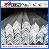 Ángulos de acero laminados en caliente 304L de la venta caliente para el edificio de la construcción