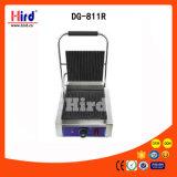 Gril électrique de contact (Dg-811r) toute la machine à nervures de traitement au four de matériel d'hôtel de matériel de cuisine de machine de nourriture de matériel de restauration de BBQ de matériel de boulangerie de la CE