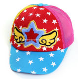 Chapeaux 100% mignons colorés d'enfants de panneau de coton 6