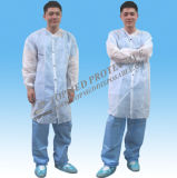 nonwoven Disposable Lab Coat、Disposable Patient Coat、SBPP Medical Gown