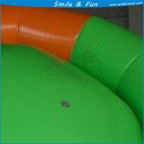 UFO inflable giratorio del agua/bola giratoria inflable para el juego del agua