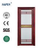 金ベルト(RA-G049)が付いている新しいデザインおよび高品質のアルミニウムガラスドア
