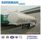 3 de Tanker van de Stookolie van de Aanhangwagen van de Vrachtwagen van het Vervoer van de Brandstof van de as