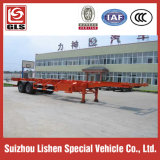 화학 Liquid Tank Container Corrosive Tanker Transportation 20cbm Semi Trailer