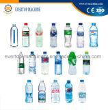 Бутылка выпивая чисто машину завалки минеральной вода