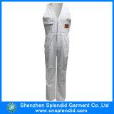 Form-Großhandelsarbeitskleidungs-weiße preiswerte Schellfisch-Hosen für Arbeitskraft