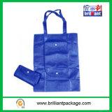 緑の標準的なFoldable Non-Woven袋