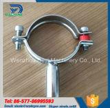 Suporte redondo sanitário da tubulação dos encaixes de tubulação do aço inoxidável
