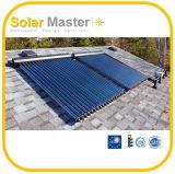 2016 coletores solares novos de tubo de vidro do projeto
