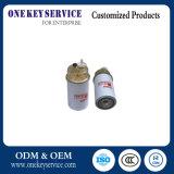 Filtro de petróleo de aço do OEM do filtro de combustível do motor do material Fs1242
