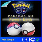 Bewegliches Spiel Cosplay Pokemon gehen Pokeball 12000 Milliamperestunde LED schnelle Telefon-Ladung-Energien-Bank-Abbildung Aufladeeinheit