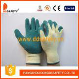 Ddsafety 2017 связанных перчаток безопасности латекса перчаток Coated